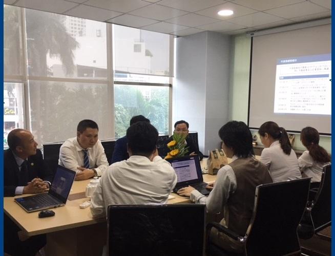 Doanh nghiệp, Nhà Đầu tư Nhật Bản đến thăm và thiết lập quan hệ hợp tác với TRTGROUP